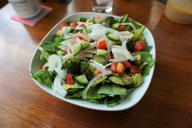 green salad asparagus