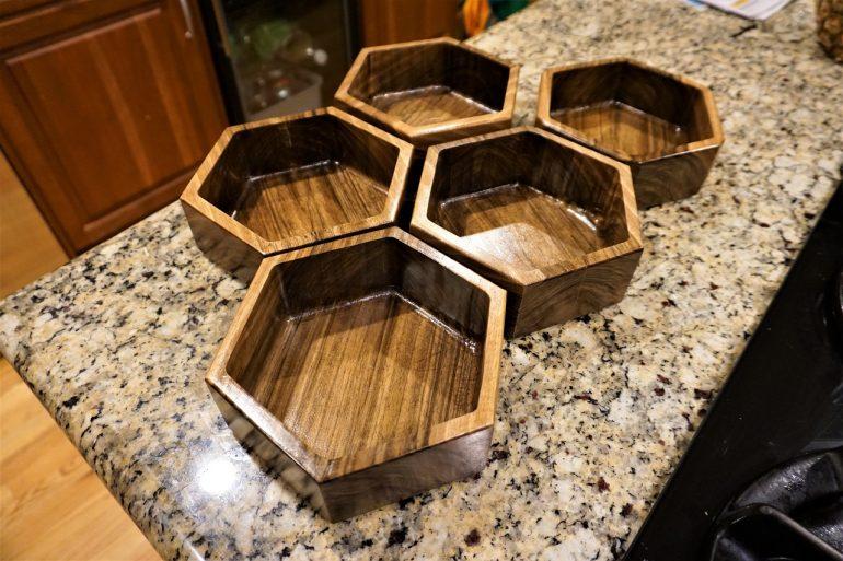 finished bowls