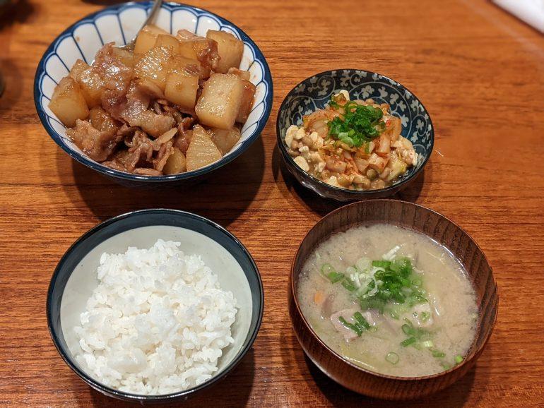 kimchi natto tonjiru