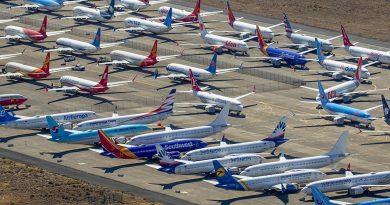 737 max storage
