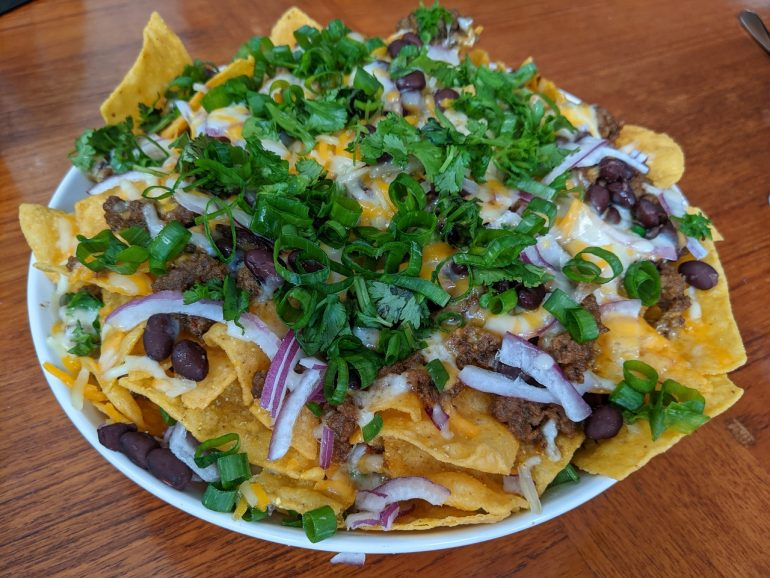 nachos in July