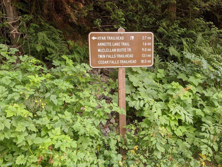 many trails