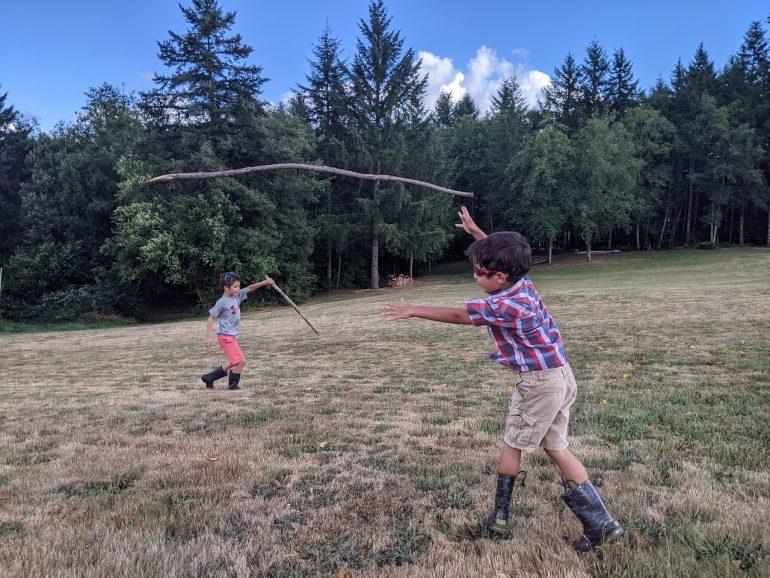 stick throwers